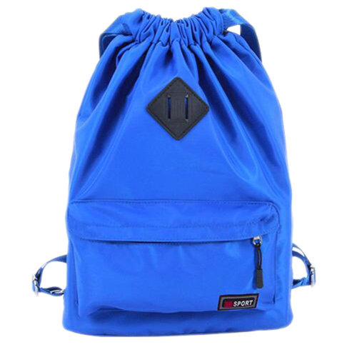 Outdoor Sport Bag Waterproof Training Bag Dance Bag Training Shoes Yoga Bag-Blue