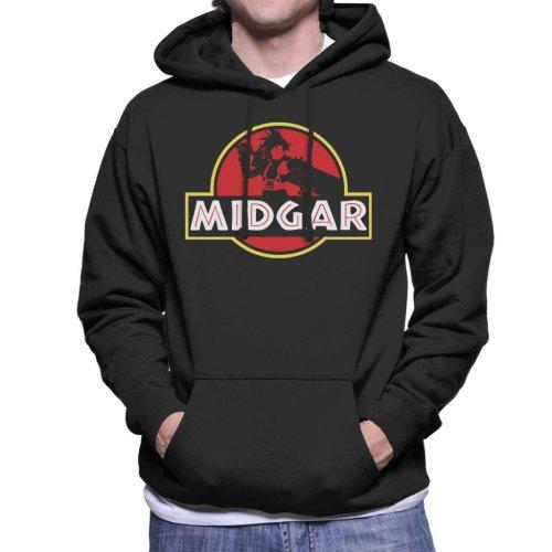 Final Fantasy Midgar Park Men's Hooded Sweatshirt