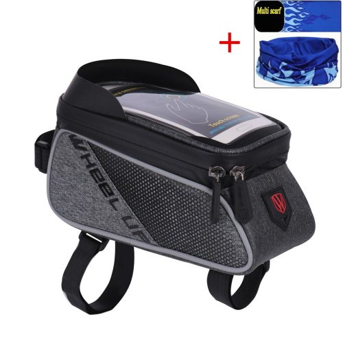 Cycling Frame Pannier Bag, Bike Front Top Road Bicycle Bike for Smart Phone