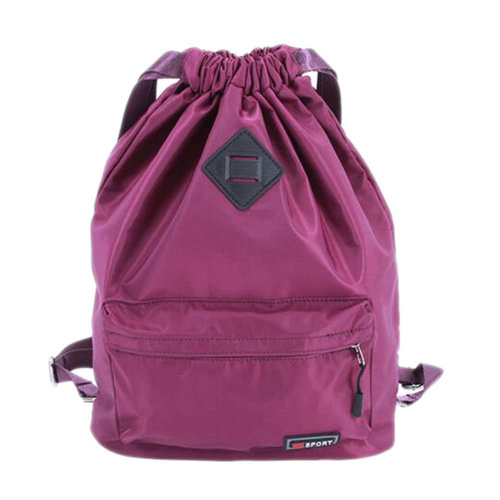 Outdoor Sport Bag Waterproof Training Bag Dance Bag Training Shoes Yoga Bag-Purple