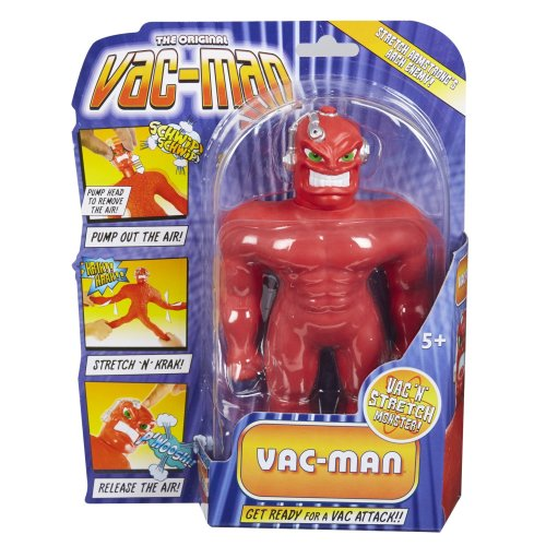 Stretch 06720 Vac Man Figure, Multi, 7-Inch