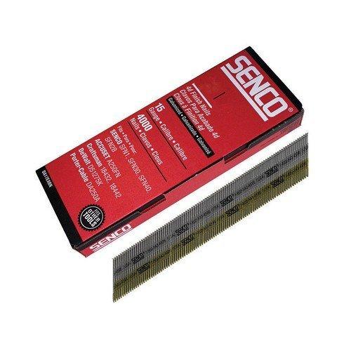 Senco DA23EAB Chisel Smooth Brad Nails Galvanised 15G x 55mm Pack of 4,000