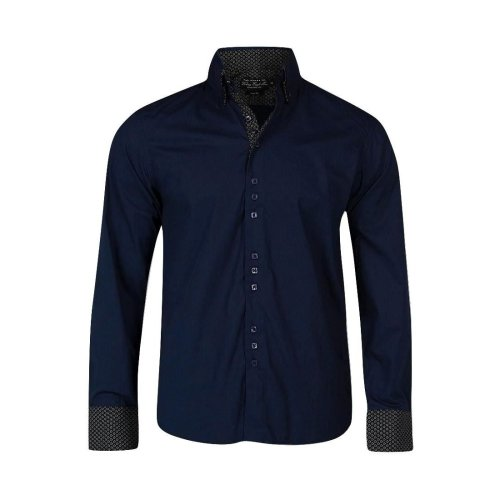 Victory Eagle Men's VT563 Long Sleeved Shirt Navy