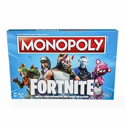 Monopoly Fortnite Edition Board Game Inspired by Fortnite Video Game Ages 13 and Up