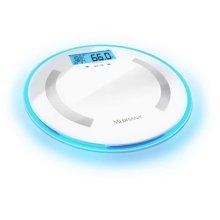 Medisana Body Analysis Scale Round BS 470 LCD Digital Glass