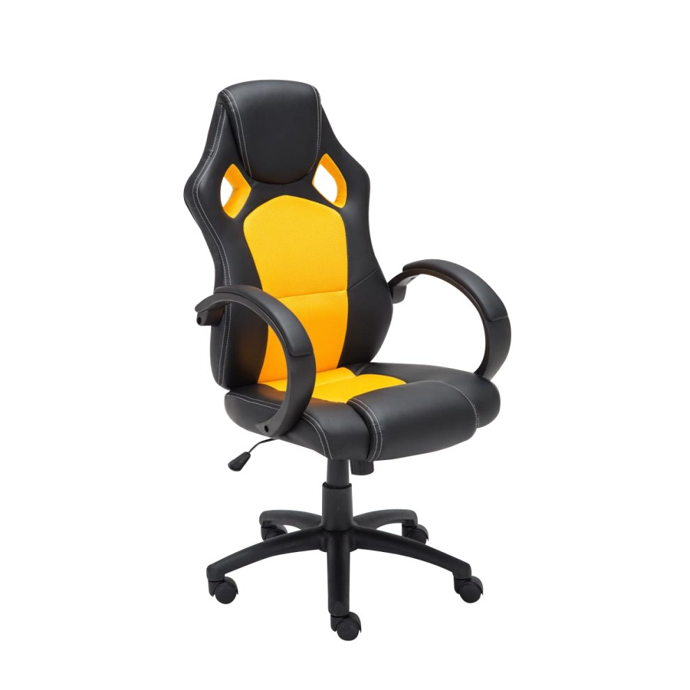 Racing Office Chair Fire On