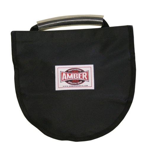 Amber Athletic Gear Discus Carry Bag - strap holds 1 Discus Throw Equipment