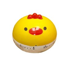 "[YELLOW Chick]2.6""Cute Mechanical Movement Kitchen Timer/Reminder-60 Minutes"