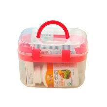 "[Set of 2] Creative Mini Portable First Aid Kit Travel Medical Box, RED, 6.5""x5"""