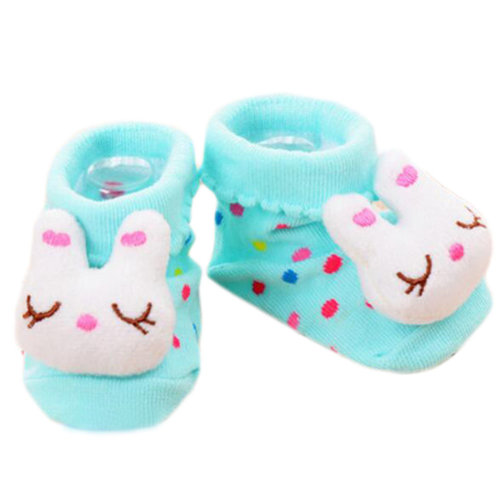 3 Pairs Non-slip Newborn Baby Boy Girls Toddler Socks Warm Non-skid Stockings Baby Gift For 6-12 Month Baby-A05