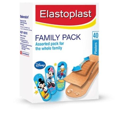 Elastoplast Disney Family Pack Plasters - 40 Plasters
