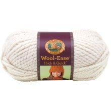 Lion Brand Wool-Ease Thick & Quick Yarn-Starlight - Metallic