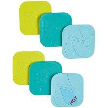 Safety 1st Anti-Slip Bath Pads 6 Pack
