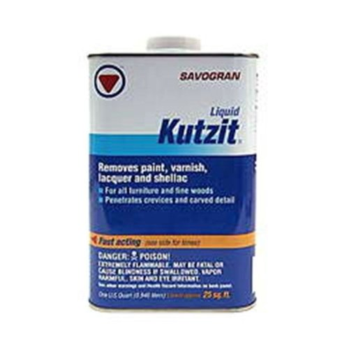 Savogran Corp 1 Quart Kutzit Paint & Varnish Remover  01112