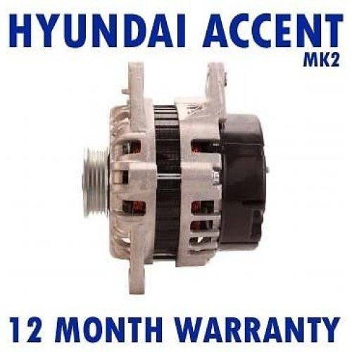 2000 hyundai accent alternator