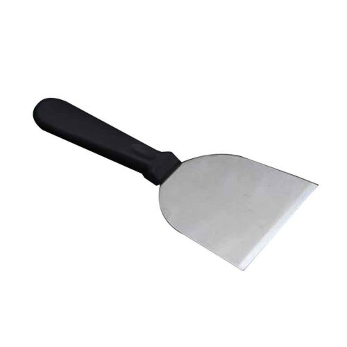Stainless Steel Cooking Shovel with Plastic Handle for Food Service [D]