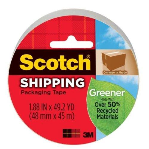 3M 3750G 1.88 in. Greener Shipping Tape
