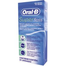 24 X Oral -B Super Floss 50 PRE-CUT STRANDS, Dental Floss
