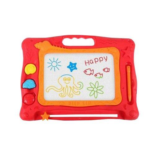 Magnetic Drawing Board Erasable Colorful Kids Writing Sketching Pad