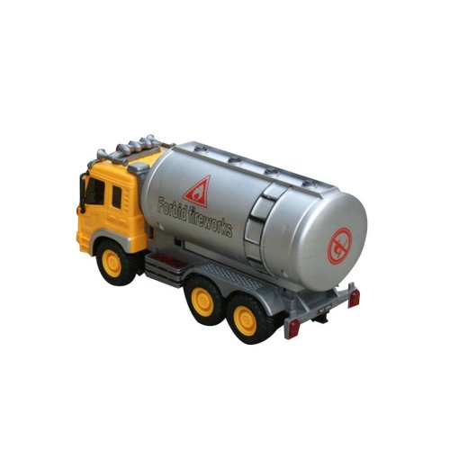 Oil Tank Truck Model Car Model Car Toy (9''*3''*4.7'')