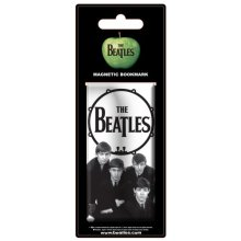 Beatles - Bookmark Drumhead (in One Size) -  drum magnetic bookmark beatles head new official beatlesapple logo