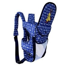 Multifunctional Cotton Baby Carriers Backpack,Household & Travel XO Navy