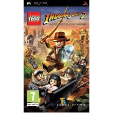 Lego Indiana Jones 2 The Adventure Continues Sony PSP Game