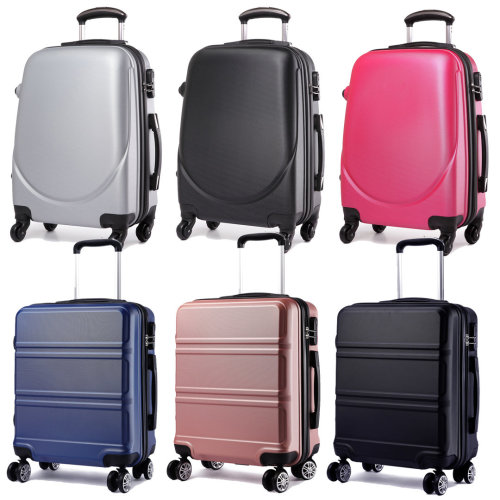 KONO 20 Inch Cabin Luggage Travel Suitcase Carry-on Trolley Case Bag Hard Shell ABS 4 Wheels Spinner