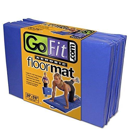GoFit Aerobic Floor Mat, 24 x 5 6