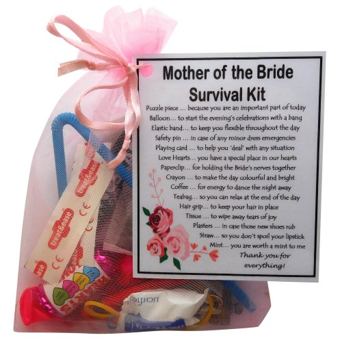Mother of the Bride Survival Kit - A great sentimental gift
