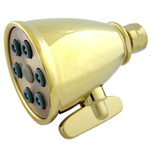 Kingston Brass K138A2 6 Spray Nozzles Power Jet Shower Head - Polished Brass
