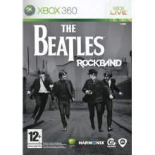 The Beatles Rock Band Xbox 360 Game