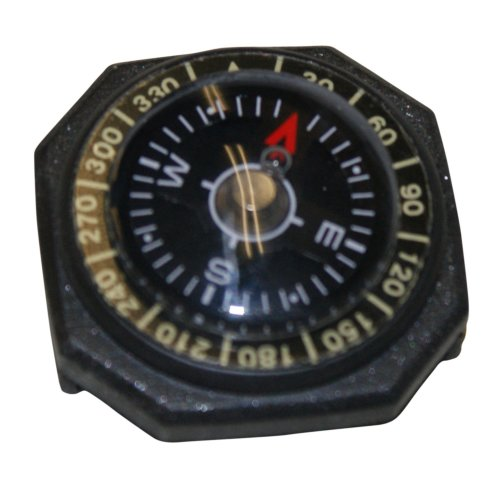 Survival Map Button Hiking Camping Outdoor Scouts