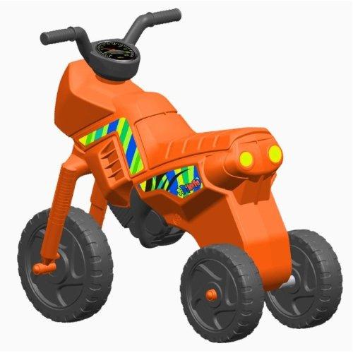 Vinsani Children Kids 3 Wheels Indoor Outdoor Balance Ride on Bike (Orange)