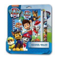 Paw Patrol Notebook & Pen Set -  paw patrol notebook pen set