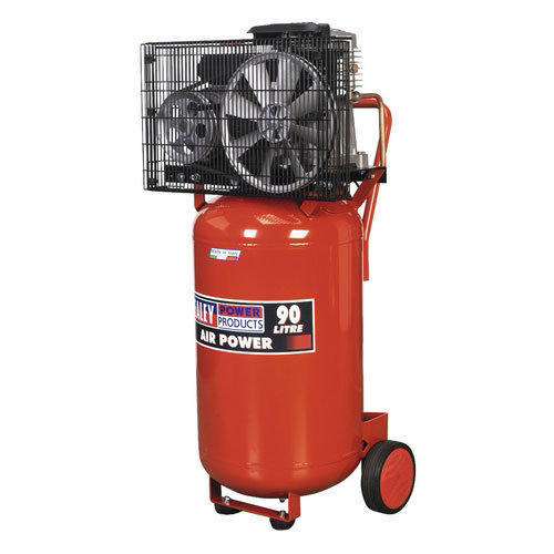 Sealey SAC1903B 90ltr Belt Drive Vertical Compressor 3hp