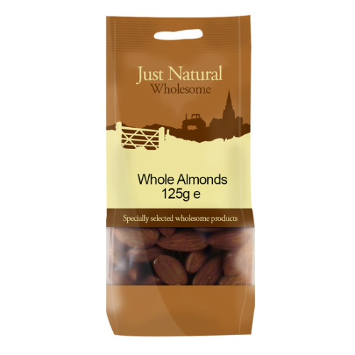 Just Natural Wholesome Whole Almonds 125g