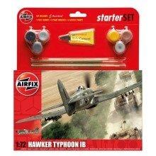 Air55208 - Airfix Medium Starter Set - 1:72 - Hawker Typhoon Ib