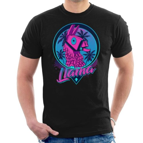 Find The Llama Fortnite Men's T-Shirt