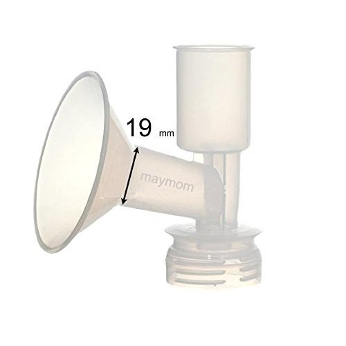 One Piece Breast Shield Flange for Ameda Breast Pumps (X-Small (19mm))