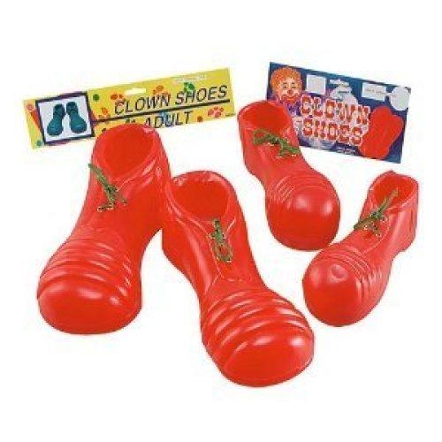 Red Children's Clown Shoes -  shoes clown fancy dress
