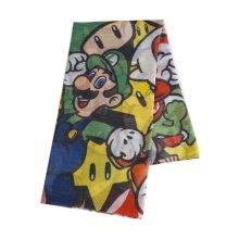 Nintendo Super Mario All Characters Fashion Scarf (SF020301NTN)