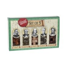 Professor Puzzle Great Minds - Set of 5 Puzzles - Male