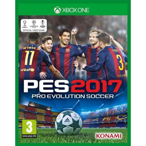 Pro Evolution Soccer 2017 Video Game PES17 Xbox One