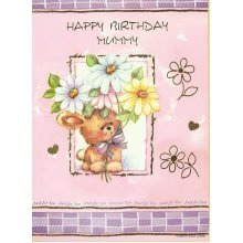 Happy Birthday Mummy Greeting Card