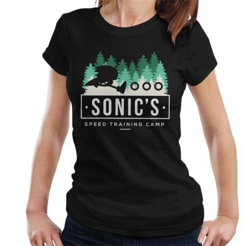 Sonic The Hedgehogs Speed Training Camp Women's T-Shirt