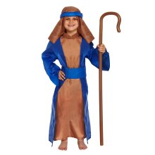 Kids Blue Nativity Shepherd Costume | Christmas