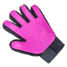 Pet Grooming Gloves Brush Efficient Pet Hair Remover Mitts