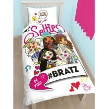 Bratz Hashtag Single Duvet Cover Set Polycotton