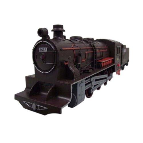 Simulation Steam Locomotive Toy/Simulation Train Toy, A(30*5*6cm)